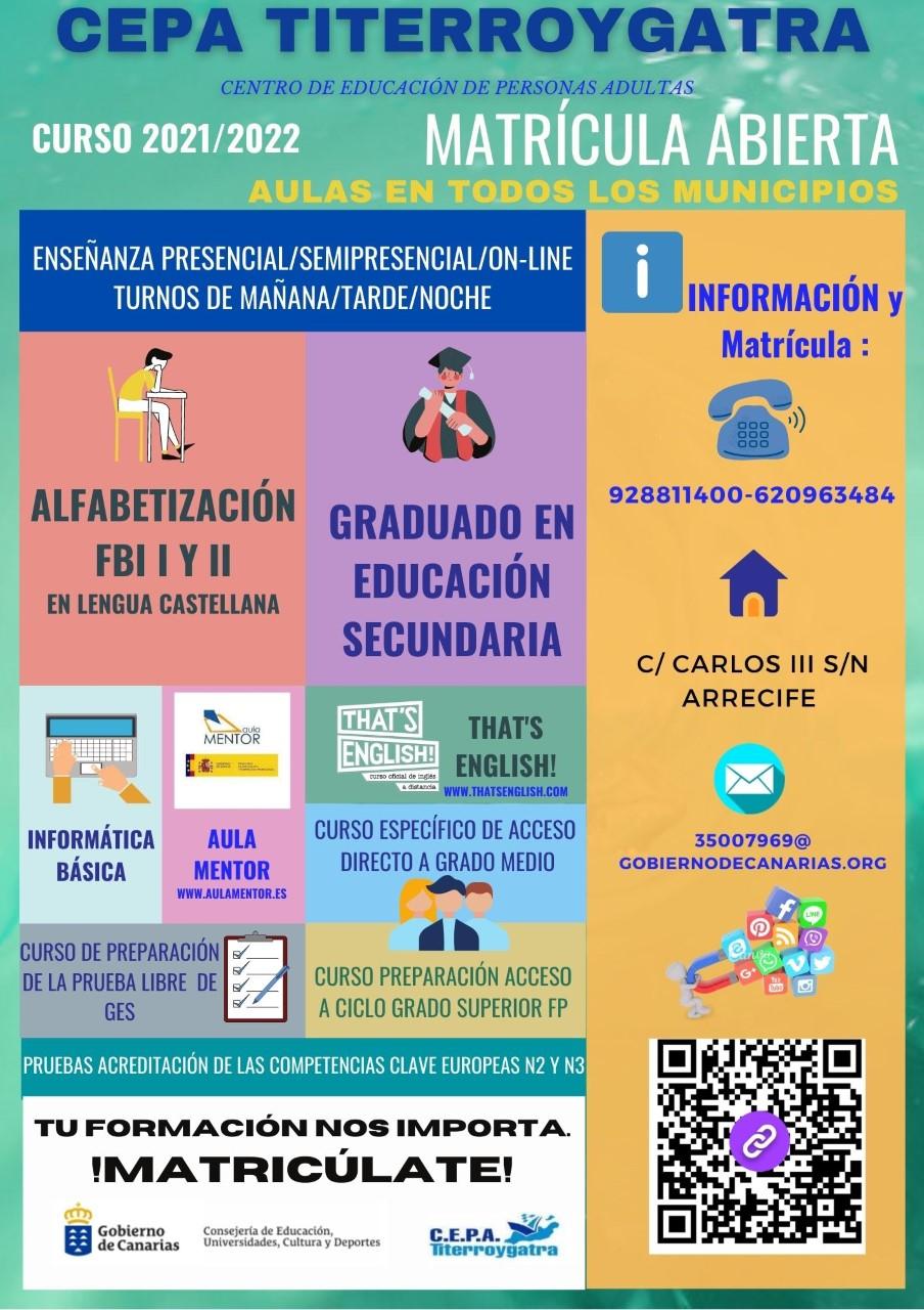 Escuela de Adultos. Yaiza/ canariasnoticias