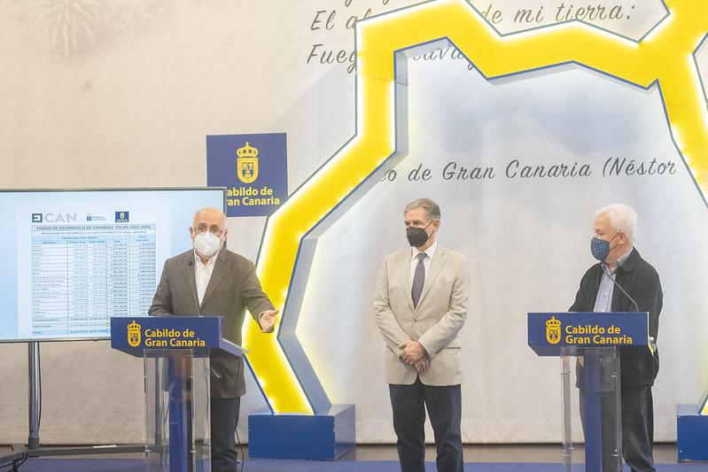Se invertirán en Gran Canaria 508 millones del FDCAN en el periodo 2021-2026 / CanariasNoticias.es