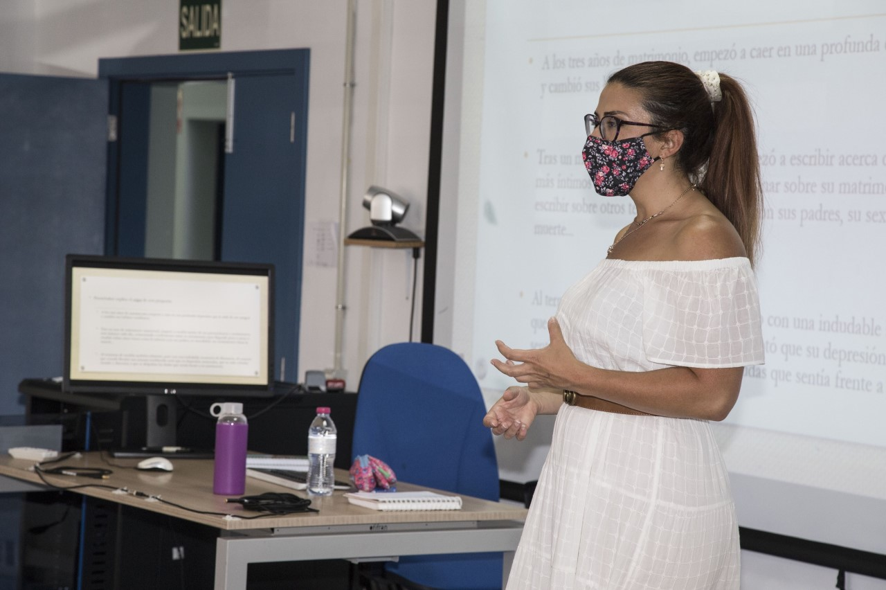 Celia Morales Rando. Universidad de Verano de Adeje/ canariasnoticias