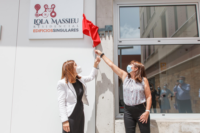 Inauguración de 'Lola Massieu' Residencial de Edificios Singulares en Telde / CanariasNoticias.es