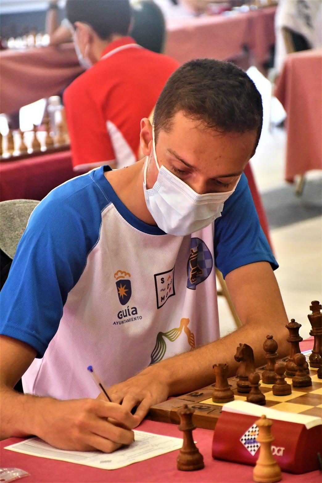 Raúl Pérez Guerra. Maestro FIDE/ canariasnoticias