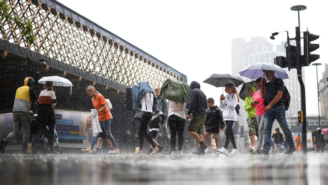 Lluvias torrenciales provocan inundaciones en Londres