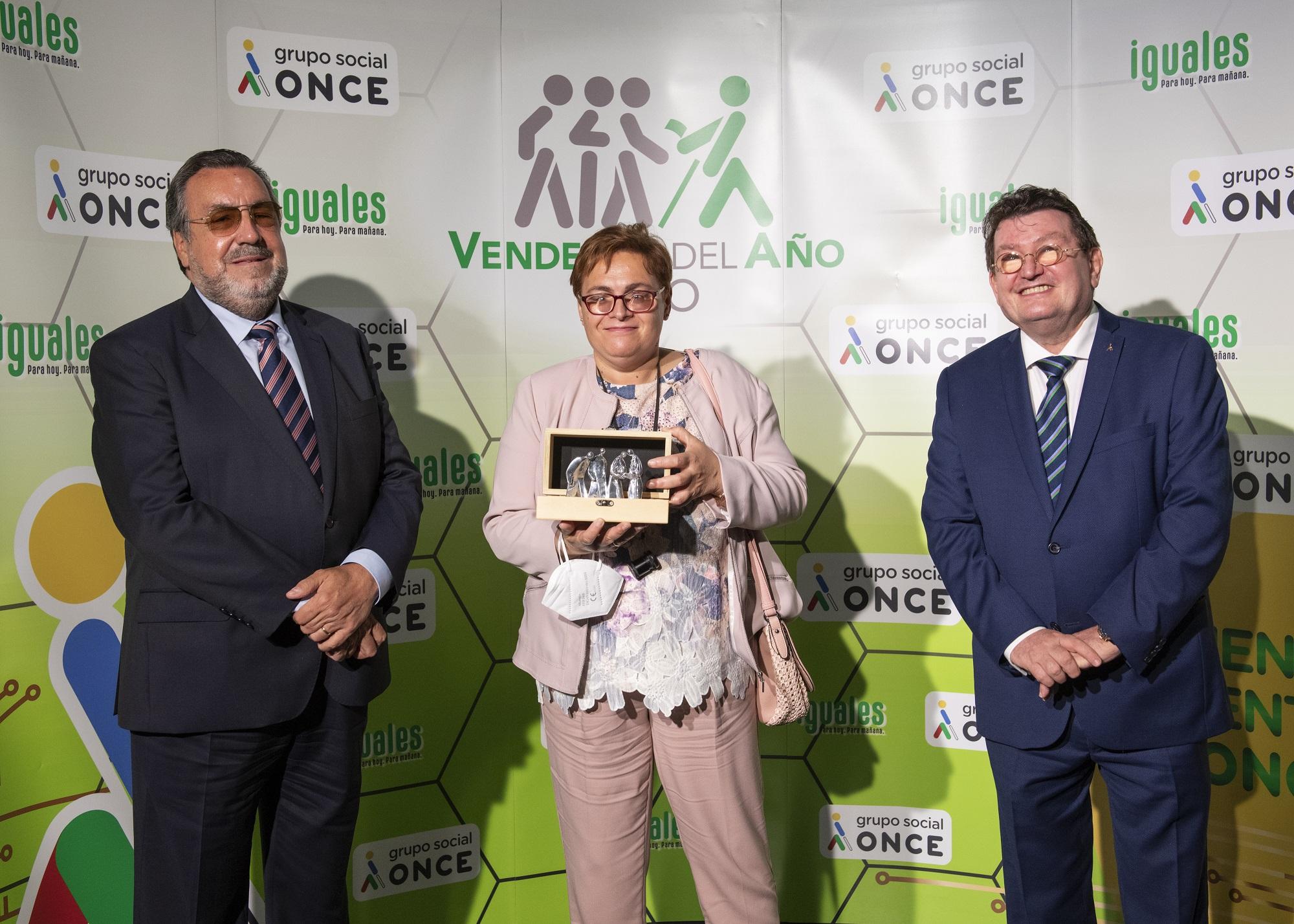 María Jesús Santana Quevedo, mejor vendedora de la ONCE en Canarias en 2020 / CanariasNoticias.es
