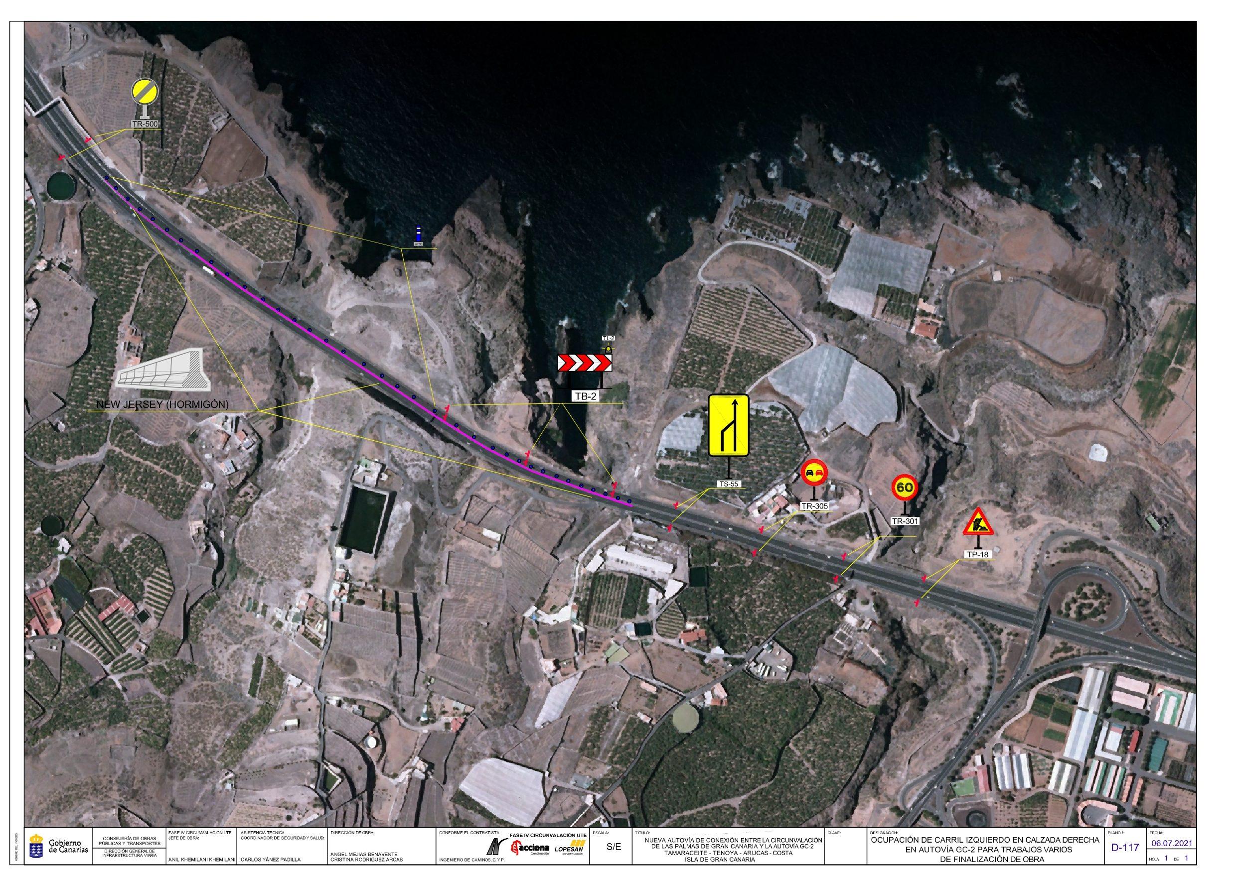 Zona de actuación de los trabajos de la IV Fase de la Circunvalación a Las Palmas de Gran Canaria / CanariasNoticias.es