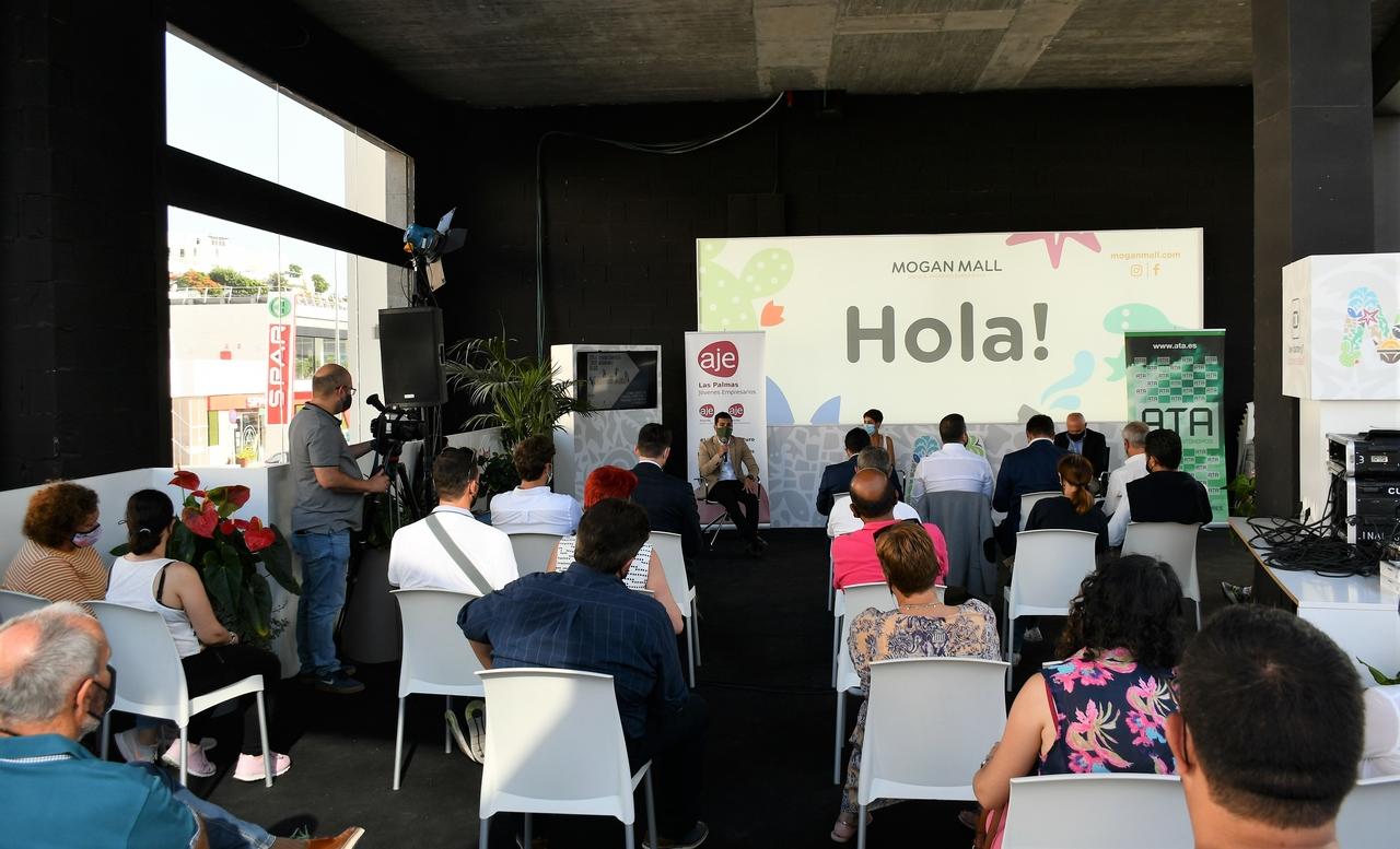 Encuentro del Ayuntamiento de Mogán con los empresarios / CanariasNoticias.es