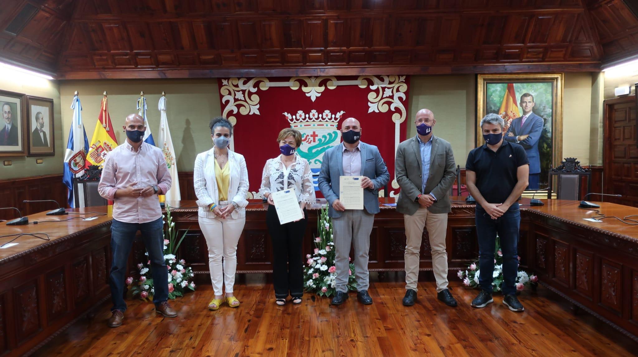 Puerto de la Cruz y la ULL firman un protocolo de colaboración / CanariasNoticias.es