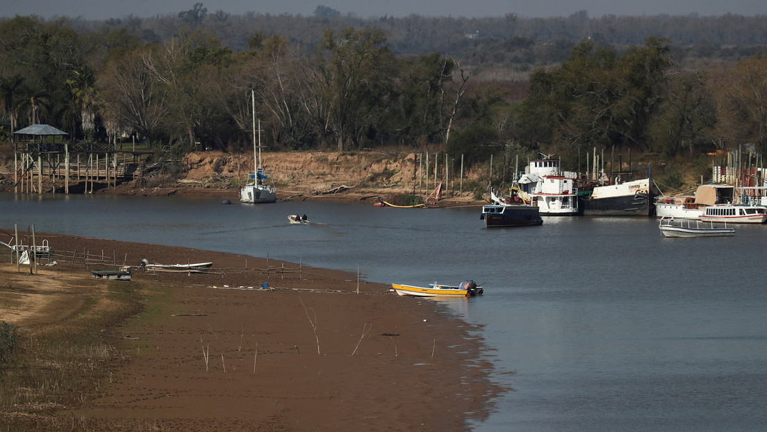 """""""Estado de Emergencia Hídrica"""" del río Paraná (Argentina) /  CanariasNoticias.es"""