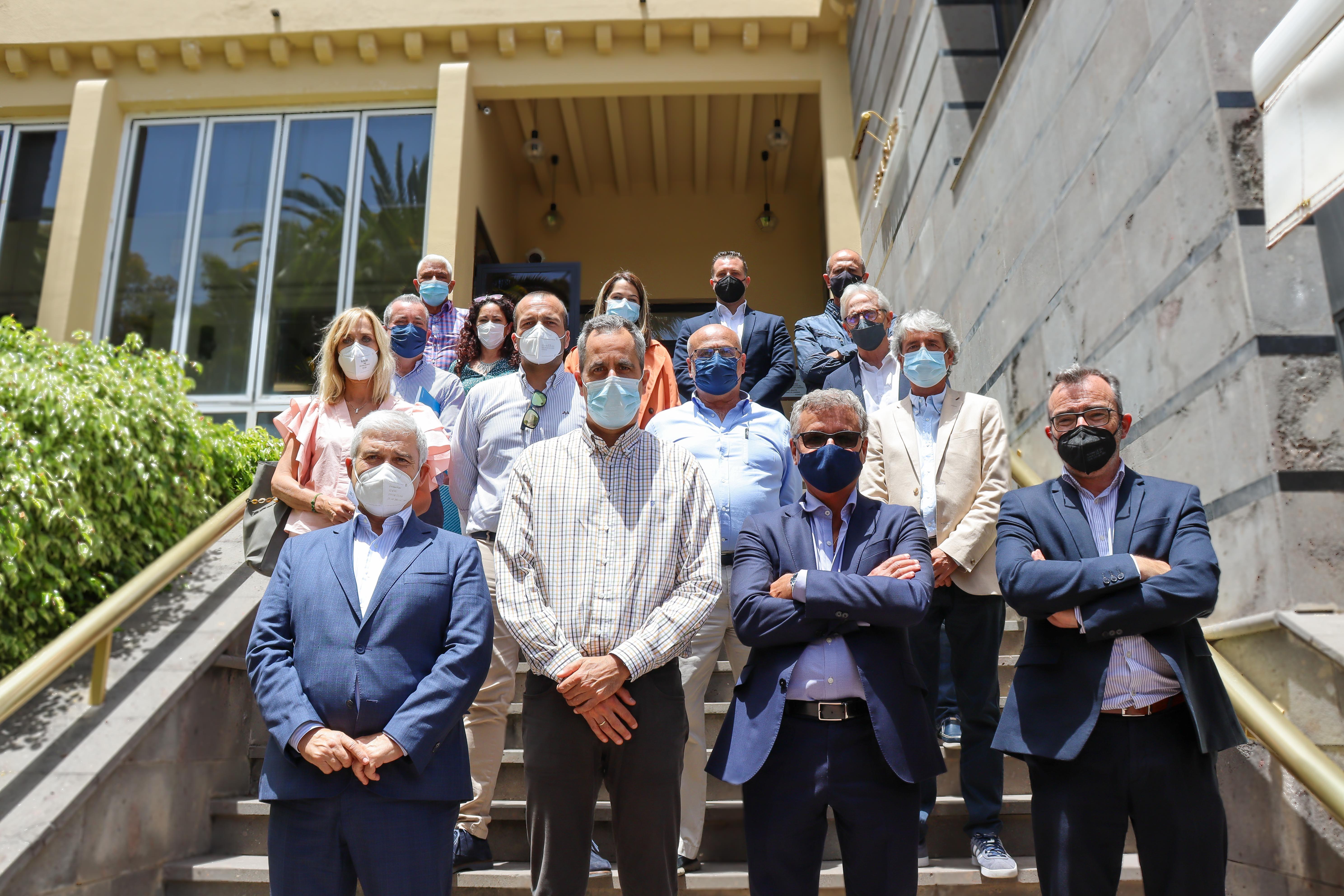 El Ayuntamiento de Santa Brígida y Hecansa crean sinergias de trabajo / CanariasNoticias.es