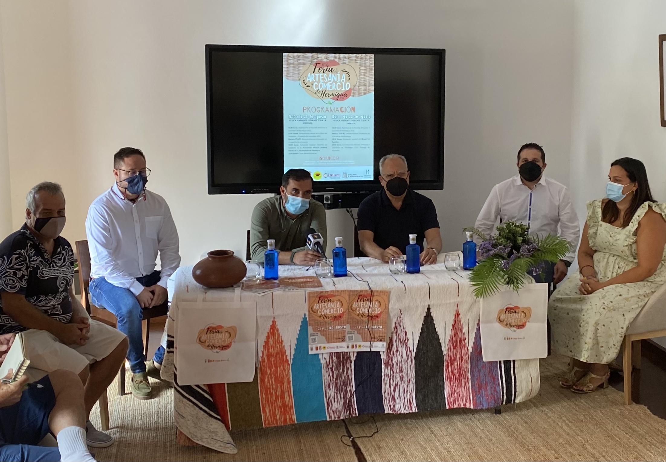 Hermigua presenta la XXIV edición de la Feria de Artesanía y Comercio / CanariasNoticias.es