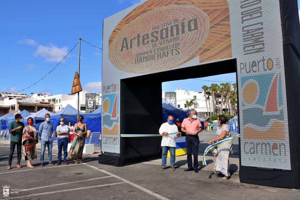 Muestra de Artesanía de Verano. Puerto del Carmen. Tías. Lanzarote/ canariasnoticias