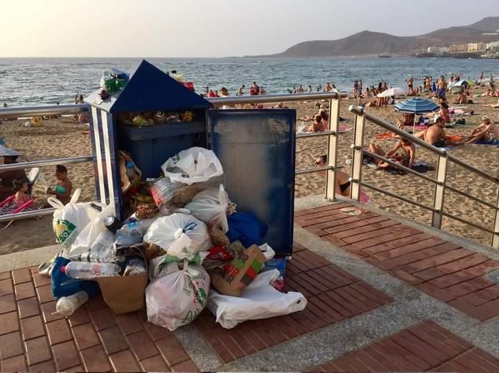 Limpieza. Suciedad. Las Palmas de Gran Canaria/ canariasnoticias
