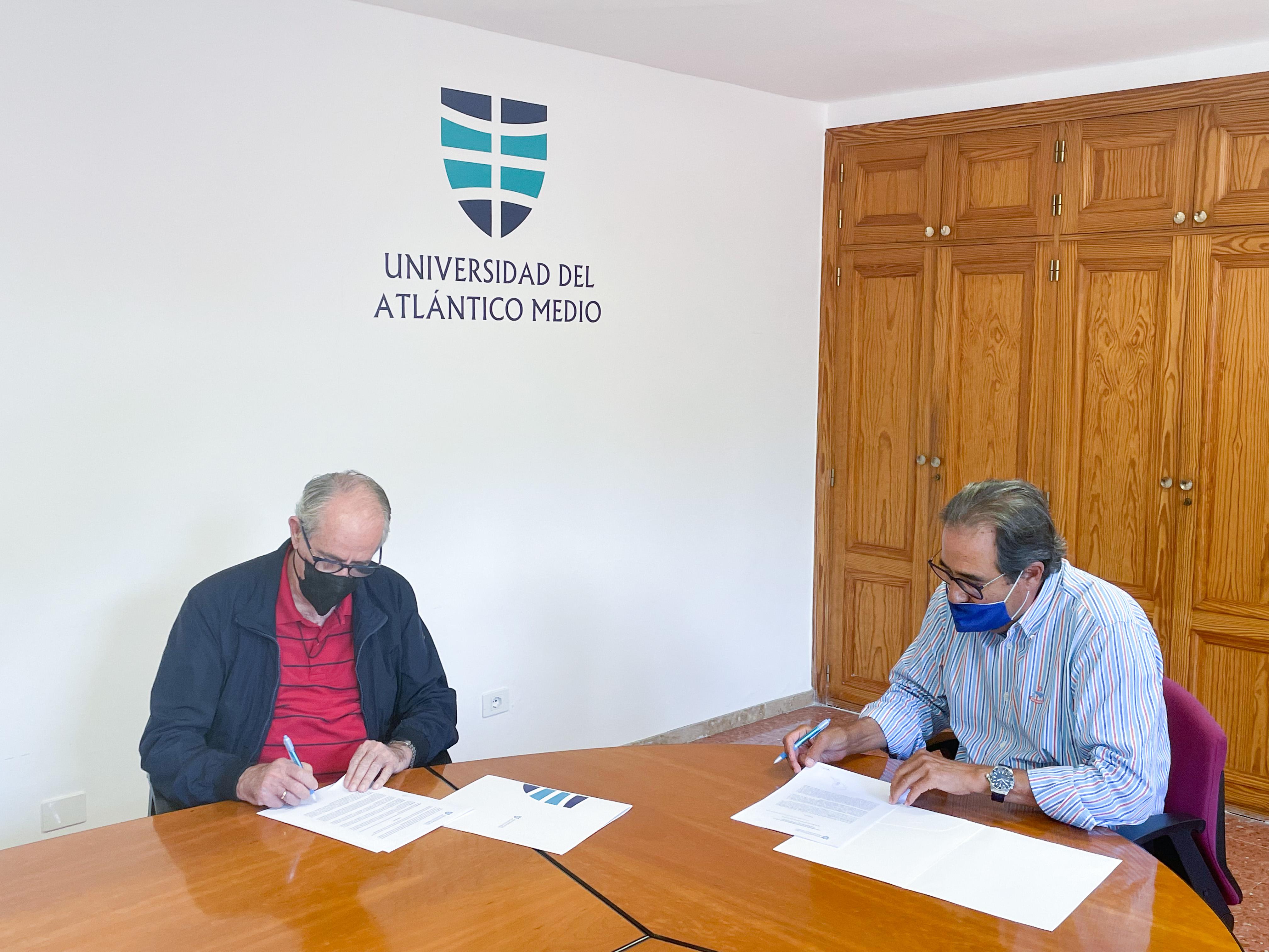 Convenio entre la Universidad del Atlántico Medio y el Banco de Alimentos de Las Palmas / CanariasNoticias.es