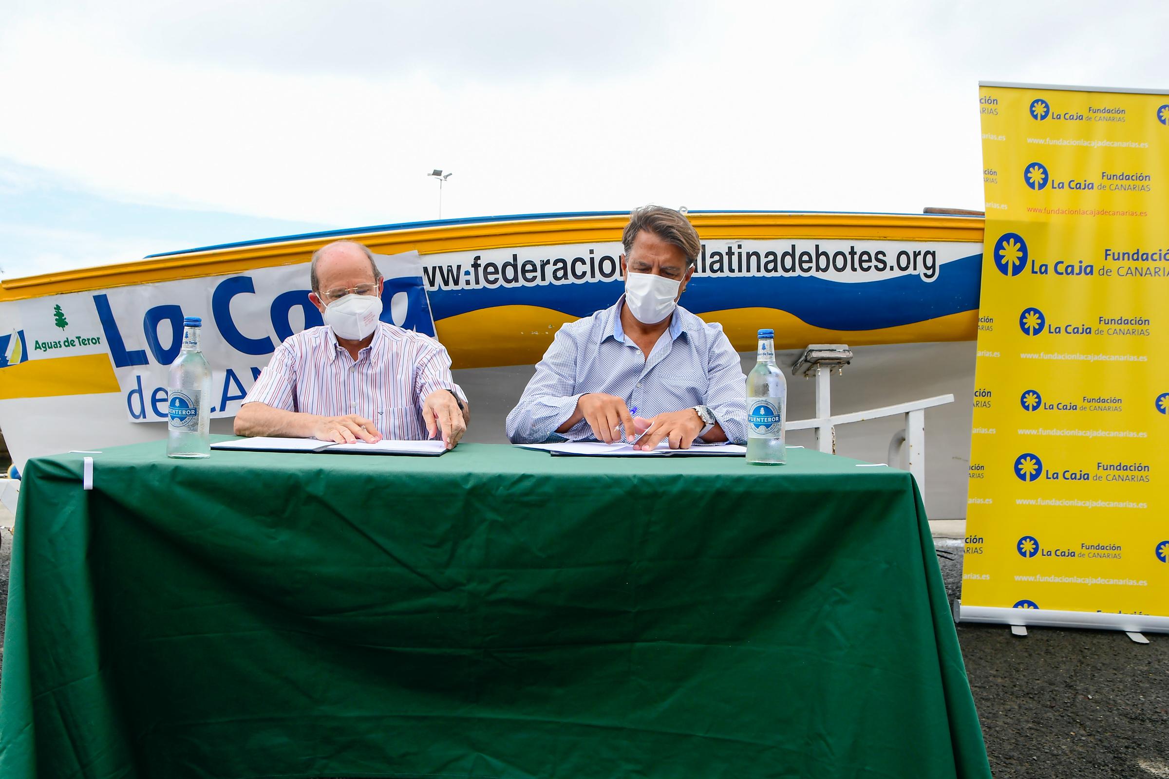 La Fundación La Caja de Canarias refrenda su apoyo a la Vela Latina / CanariasNoticias.es