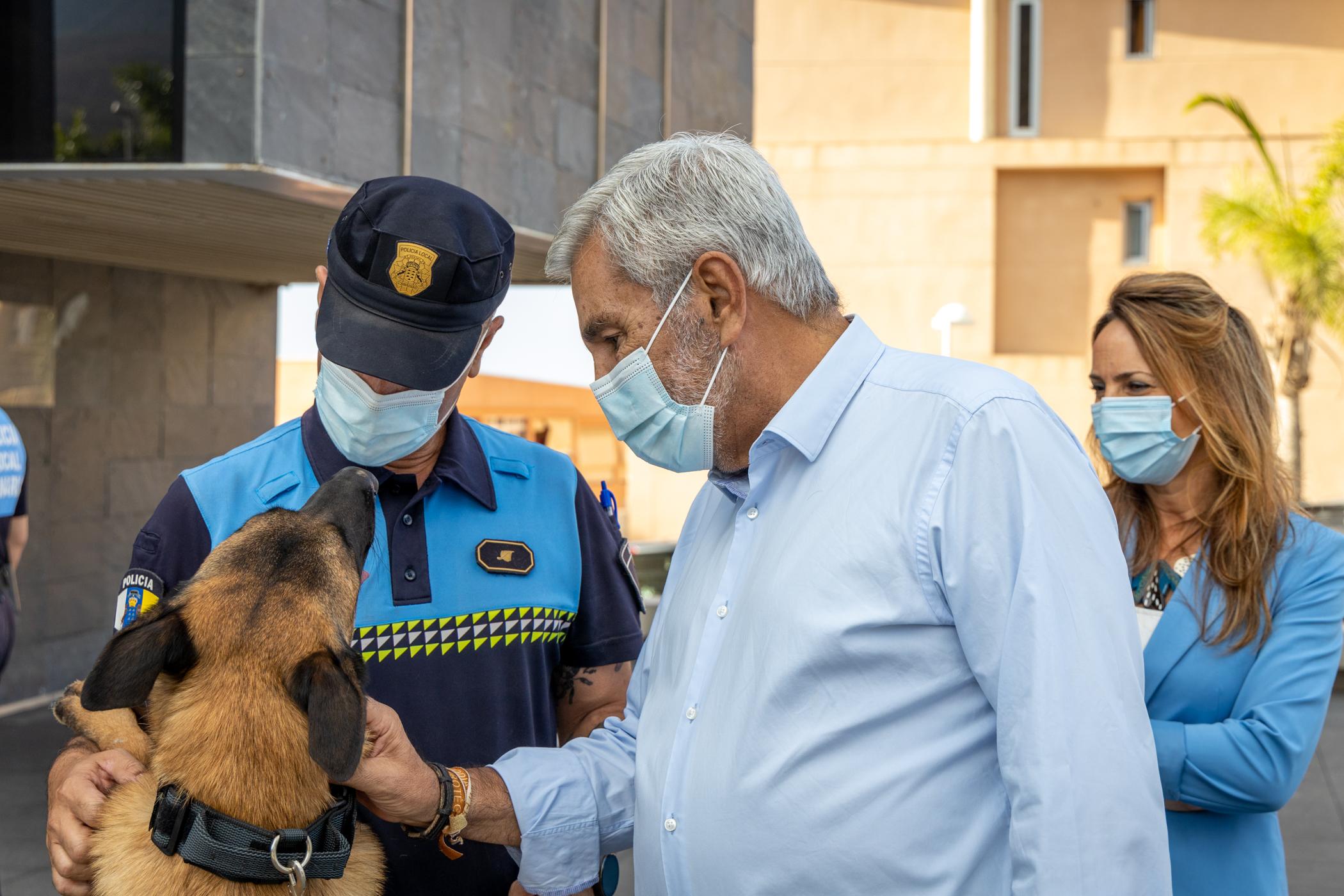 Curso para guías caninos en Adeje / CanariasNoticias.es