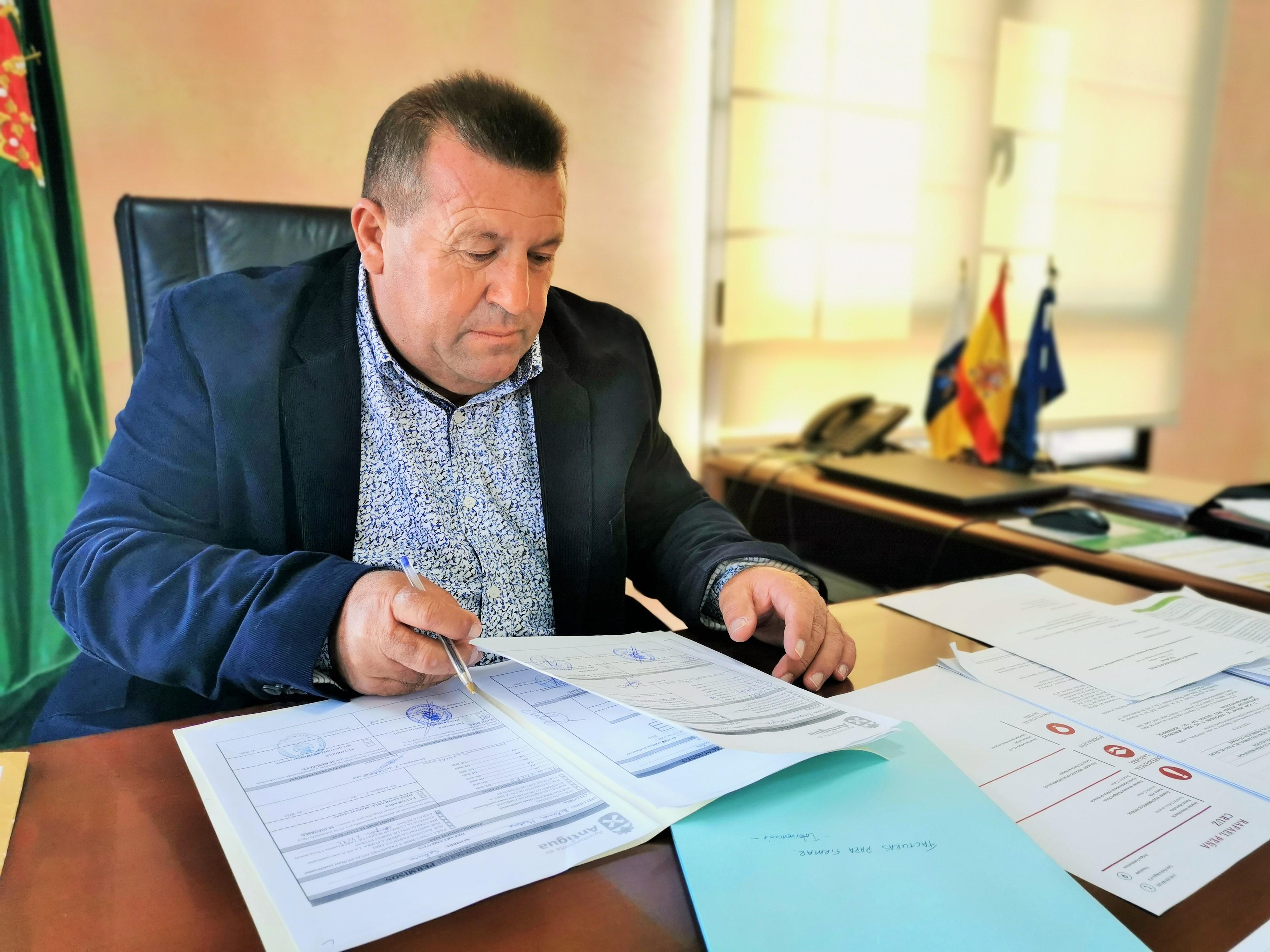 Matías Peña, alcalde de Antigua (Fuerteventura) / CanariasNoticias.es