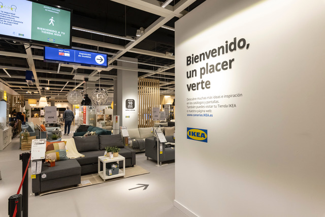 Tienda urbana IKEA del Centro Comercial 7 Palmas en Las Palmas de Gran Canaria / CanariasNoticias.es