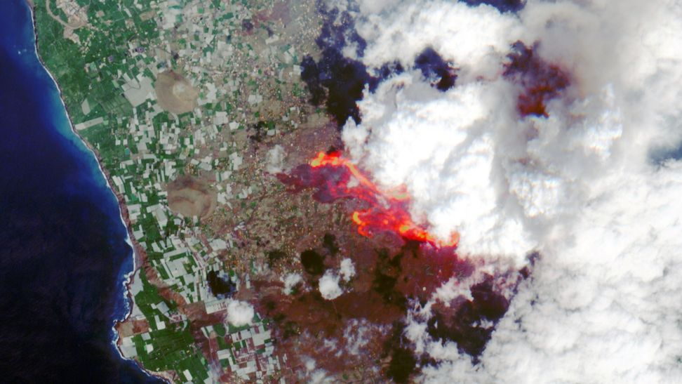 Volcán de Cumbre Vieja. La Palma/ canariasnoticias