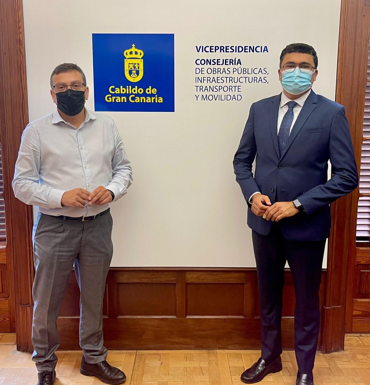 Miguel Ángel Pérez del Pino y Francisco Atta/ canariasnoticias