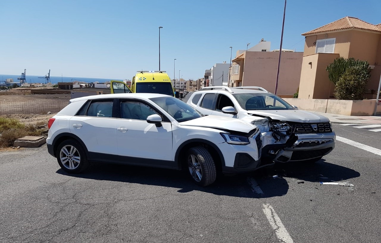 Accidente de tráfico en Puerto del Rosario (Fuerteventura) / CanariasNoticias.es