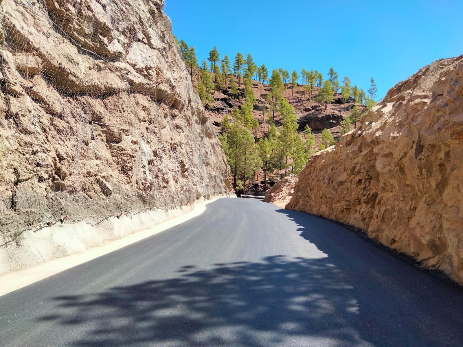 Reabre al tráfico la GC-605, la carretera de acceso a la presa de Las Niñas / CanariasNoticias.es