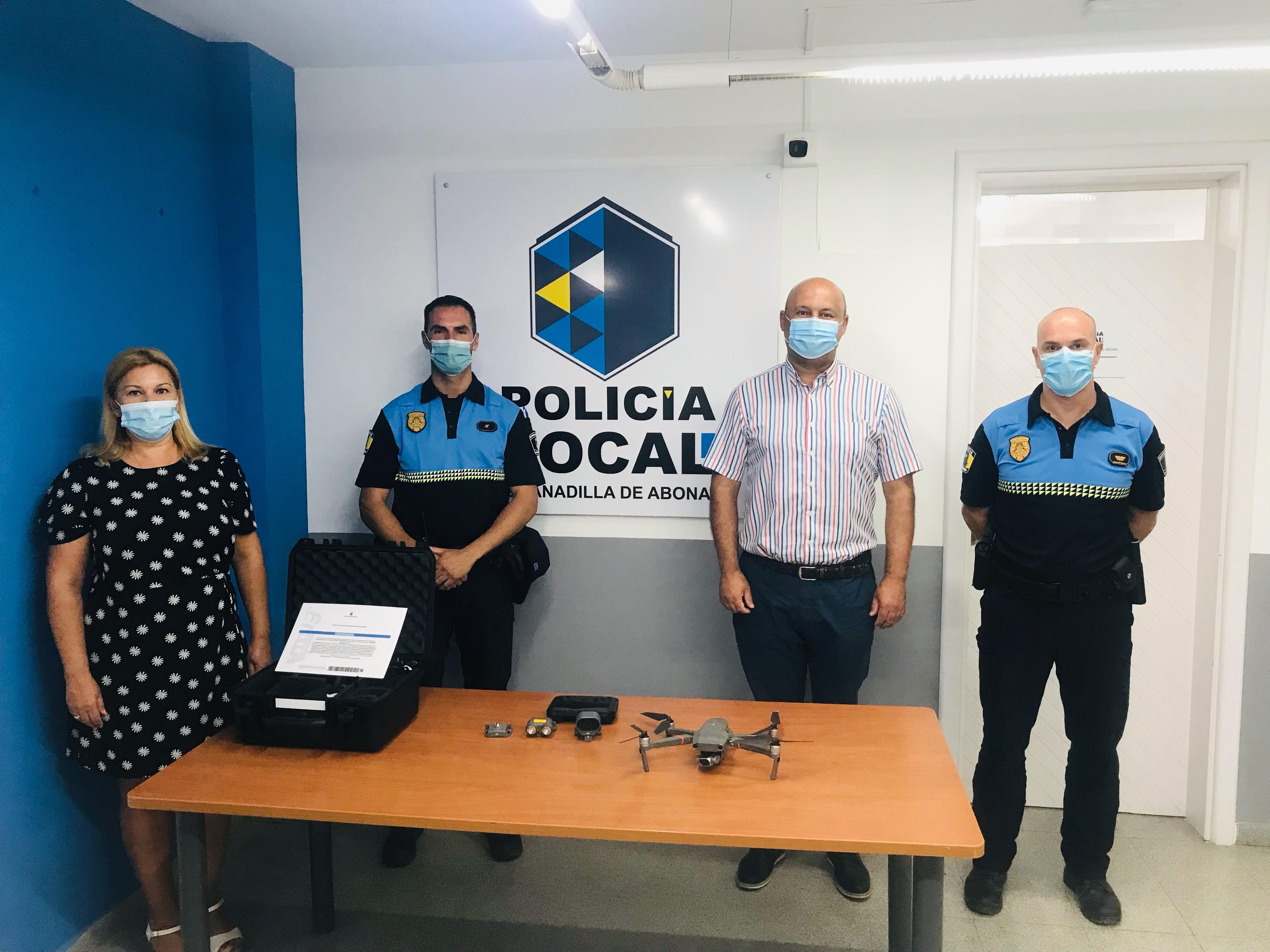 Granadilla de Abona incorpora un dron para labores de vigilancia / CanariasNoticias.es