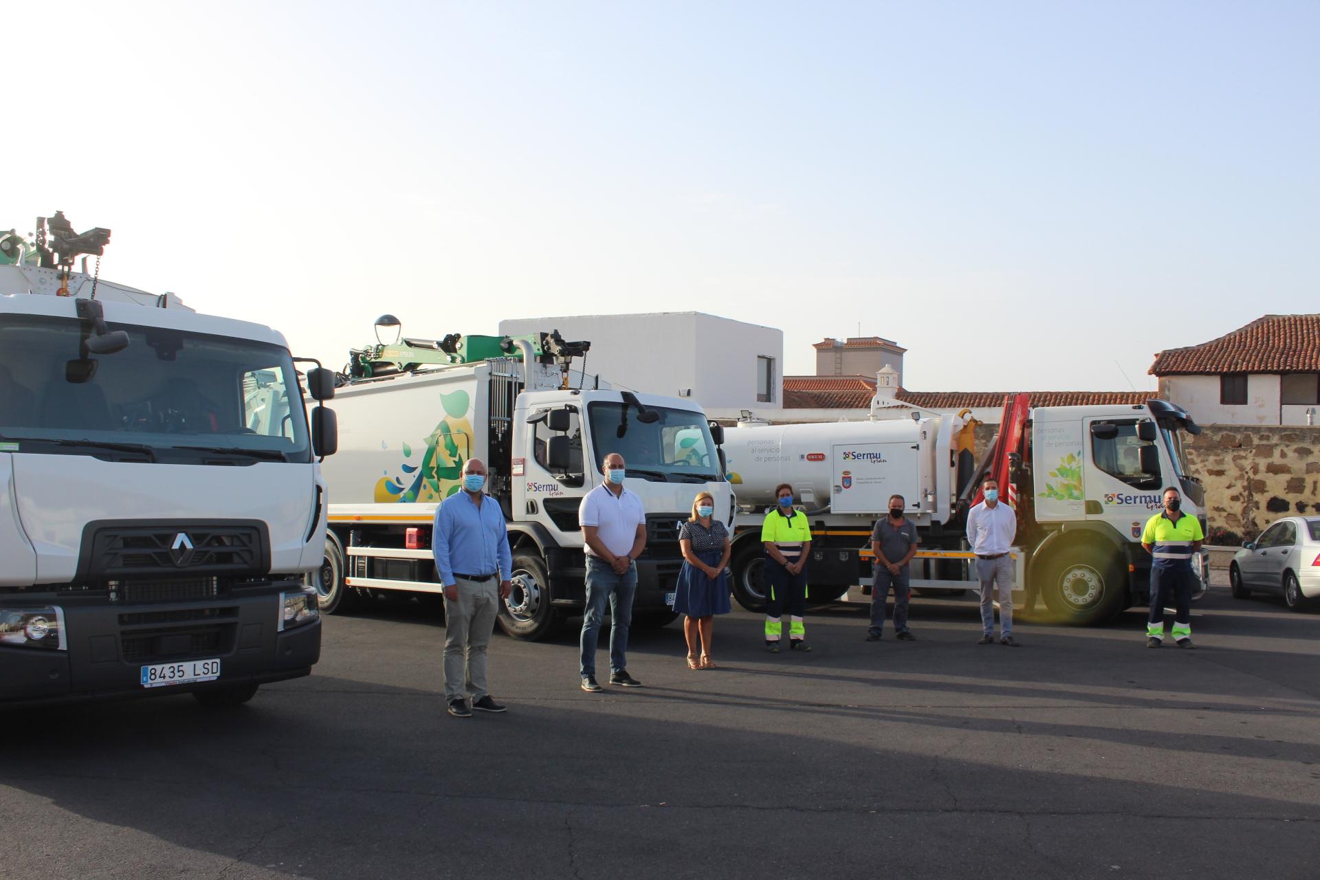 Granadilla de Abona moderniza su flota de vehículos para la recogida de residuos / CanariasNoticias.es