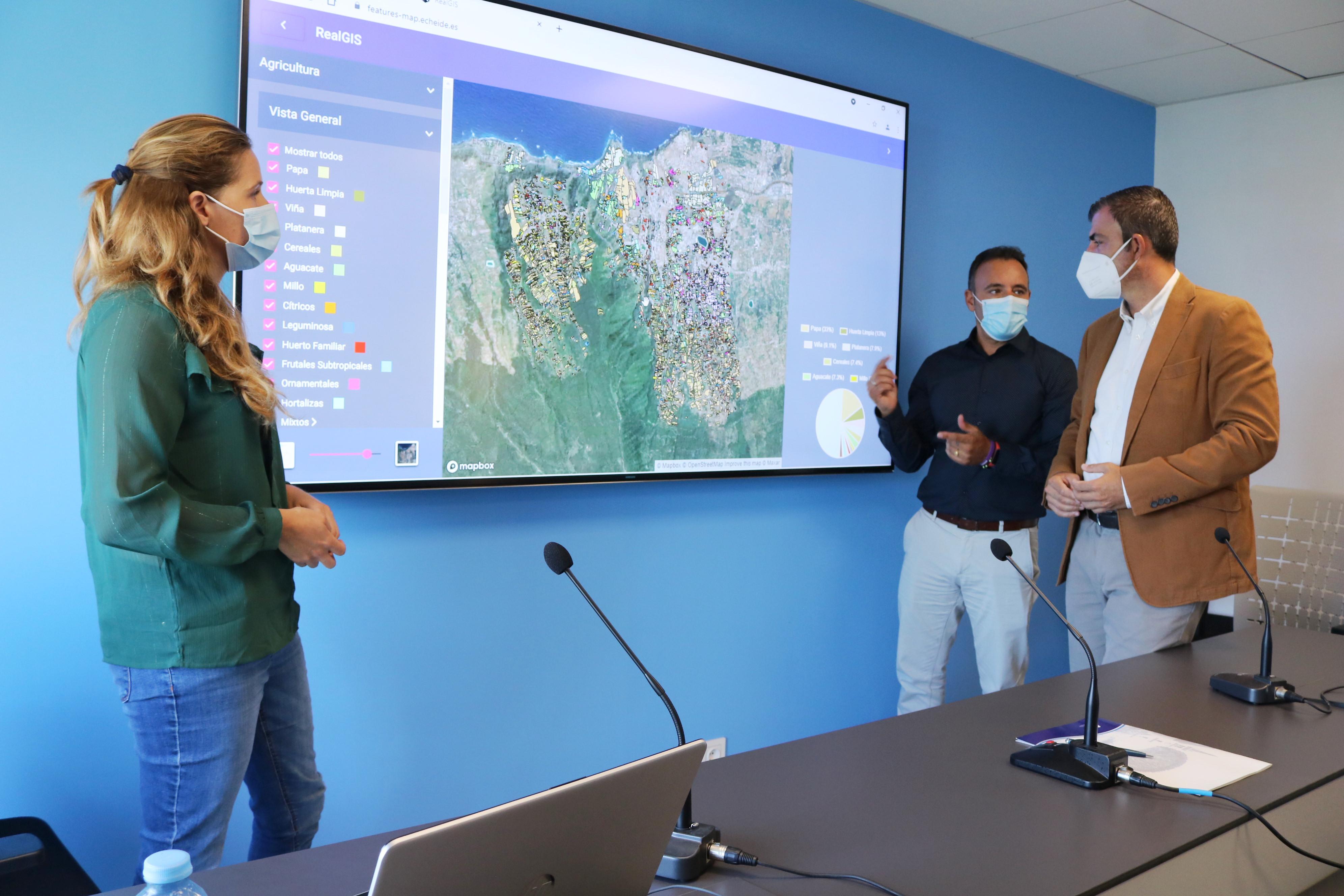 Presentación del mapa de cultivos de Los Realejos / CanariasNoticias.es