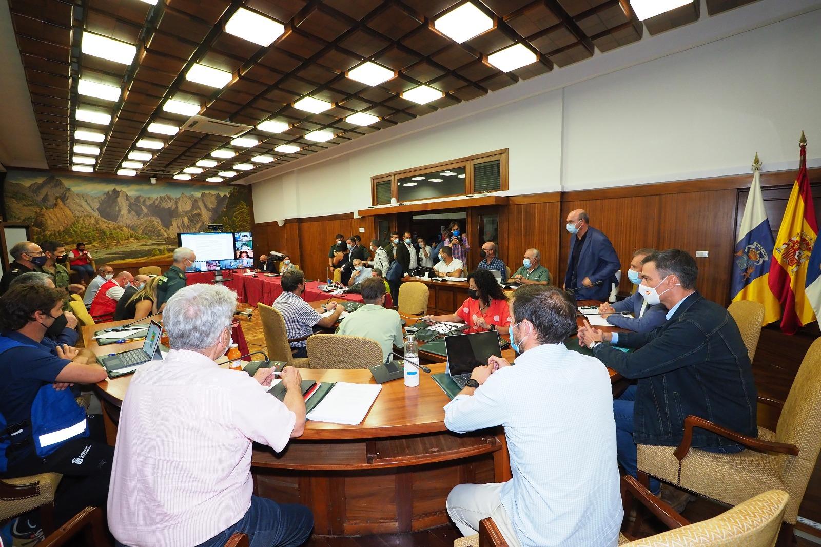 Reunión del Comité Director del PEVOLCA