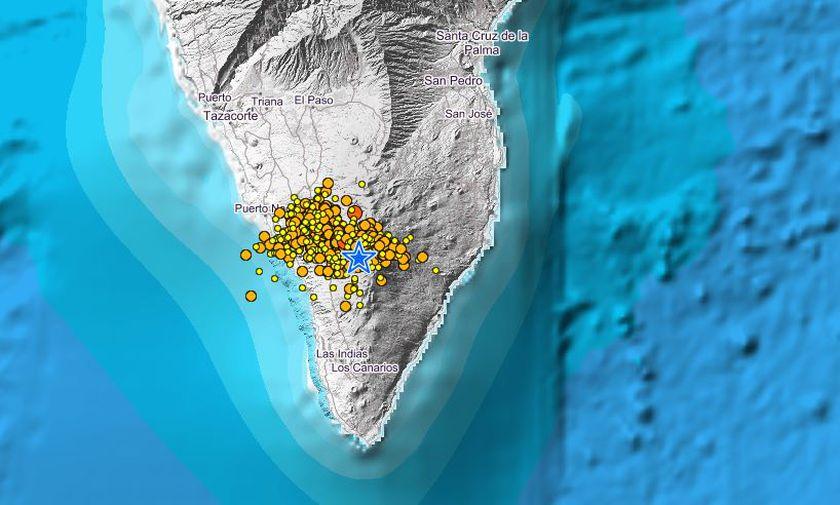 Movimientos sísmicos. La Palma/ canariasnoticias