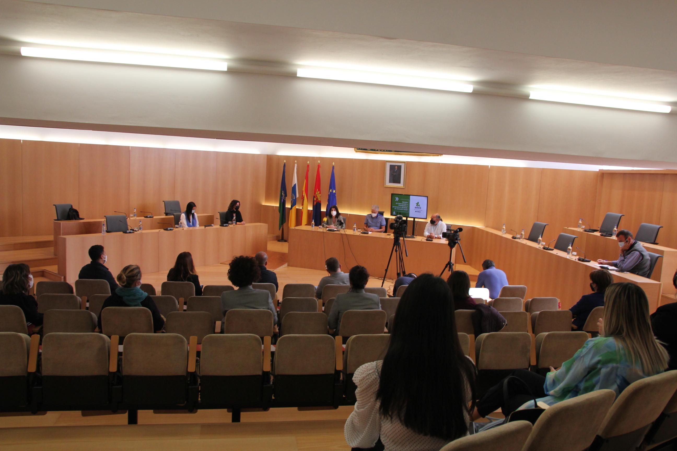 Pleno del Ayuntamiento de Tías (Lanzarote) / CanariasNoticias.es