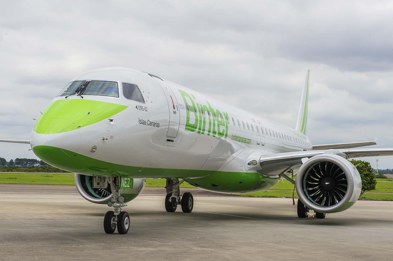 Avión de Binter