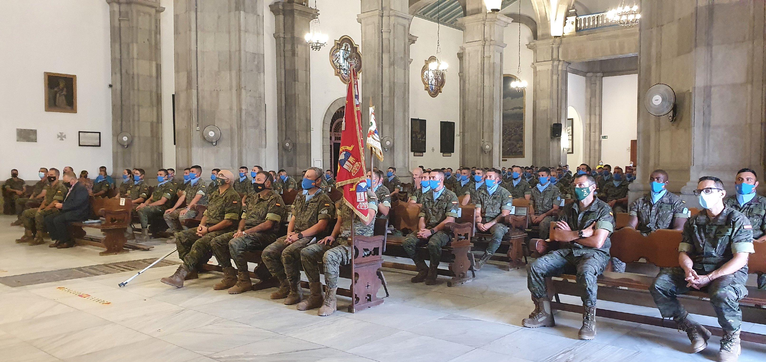 Despedida a los militares que irán de misión al Líbano / CanariasNoticias.es