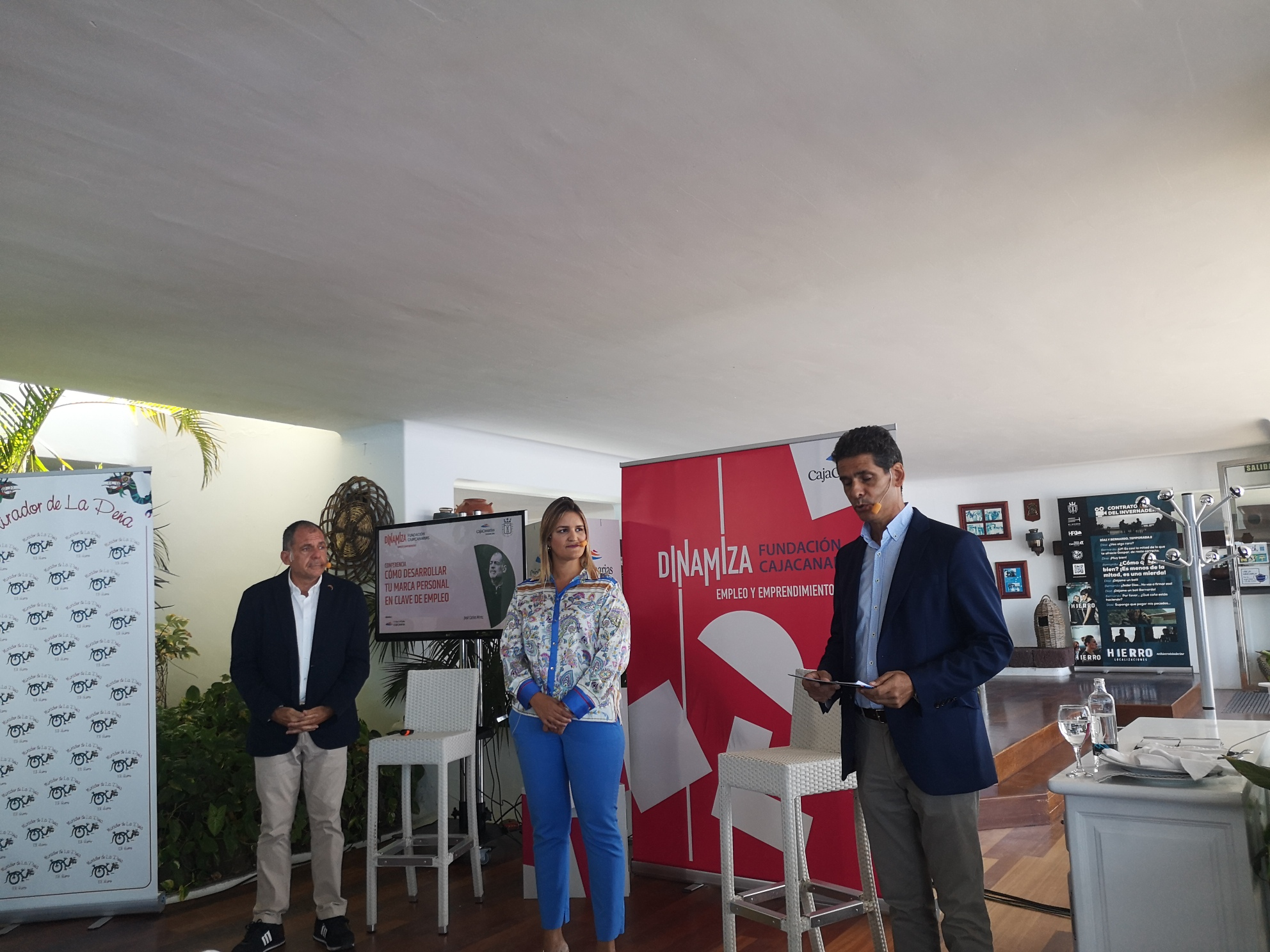 Programa Dinamiza Empleo y Emprendimiento de Fundación CajaCanarias llega a El Hierro / CanariasNoticias.es