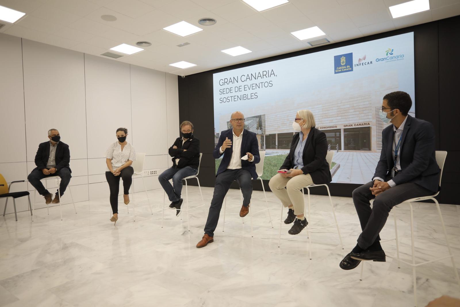 Debate en INFECAR sobre la idoneidad de Gran Canaria como sede de eventos sostenibles / CanariasNoticias.es