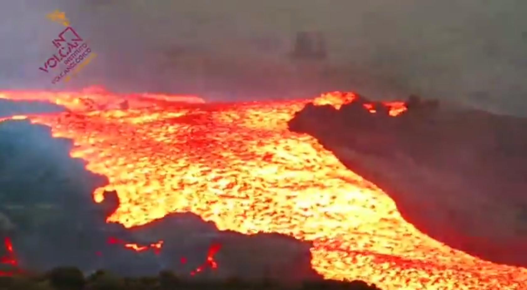 Lava del volcán de La Palma/ canariasnoticias