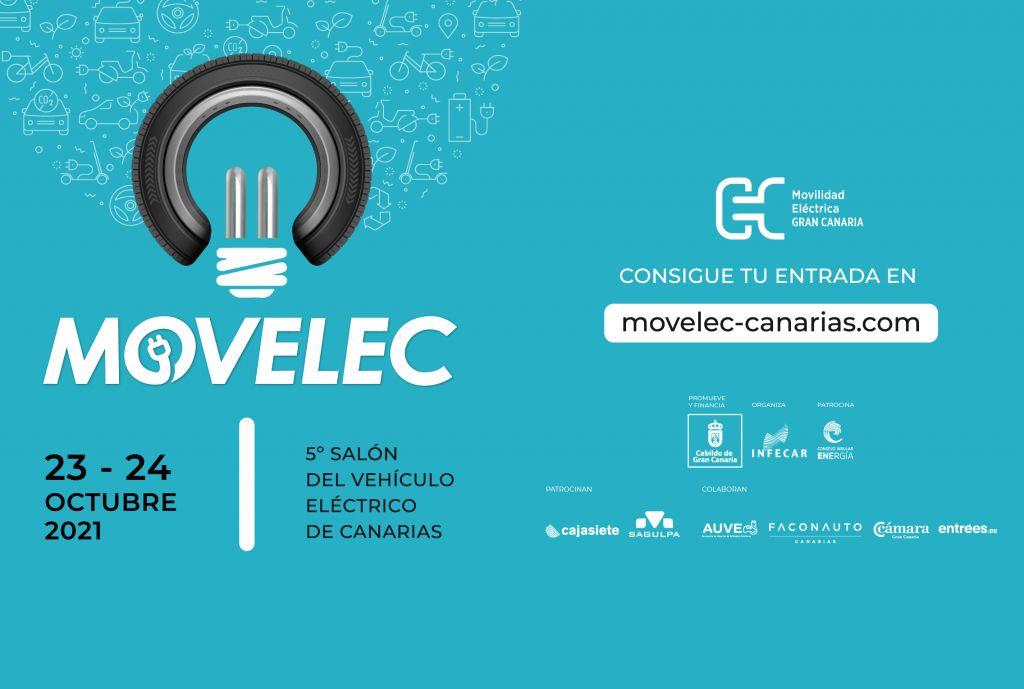 Salón del Vehículo Eléctrico de Canarias, Movelec en Infecar