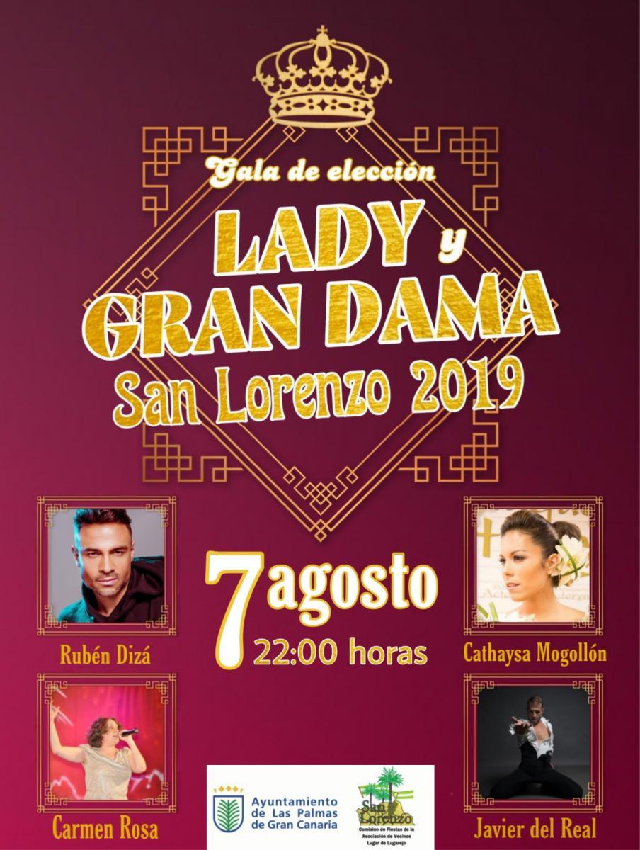 San Lorenzo Elige A Su Lady Y Gran Dama De Las Fiestas Canarias