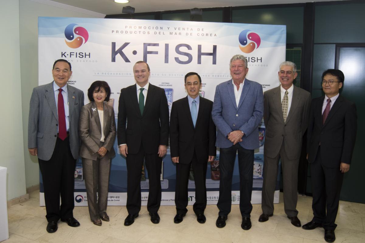 Festival de pescado coreano en Las Palmas.