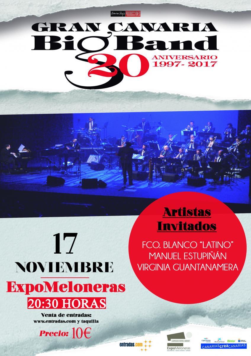 La Gran Canaria Big Band celebra su 20 aniversario