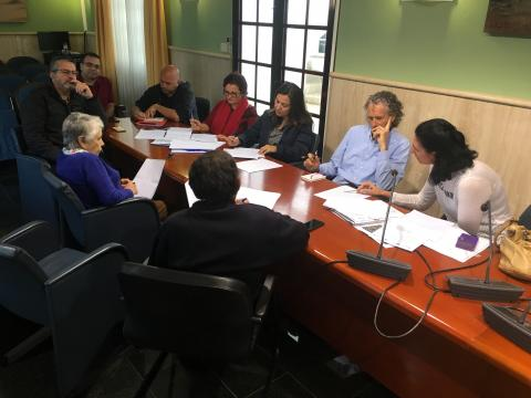 Reunión del grupo de acción local del Proyecto Eco-tur