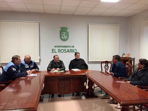 Reunión de seguridad de clubes deportivos de El Rosario