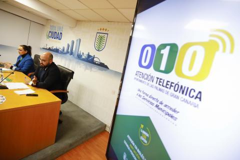 Presentación servicio telefónico 010