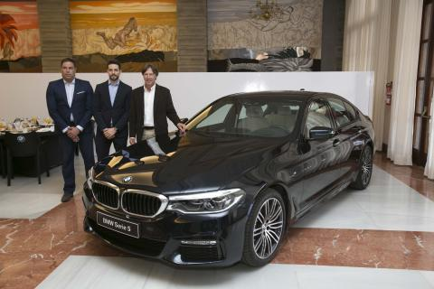 Presentación del nuevo BMW serie 5