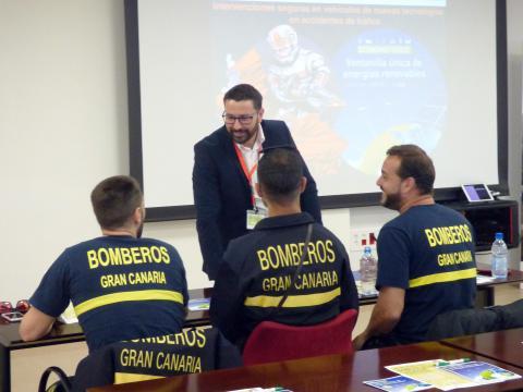Curso para bomberos en Lanzarote