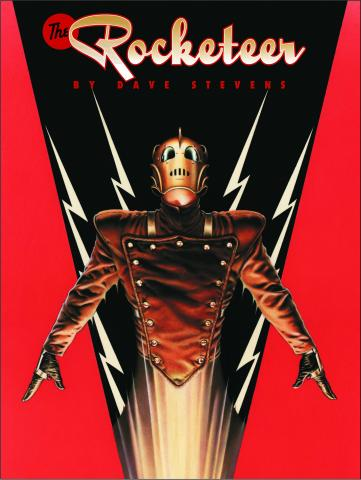 Portada del cómic The Rocketeer