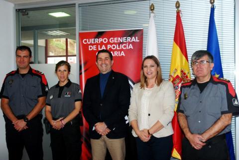 Convenio de colaboración de la Policía Canaria