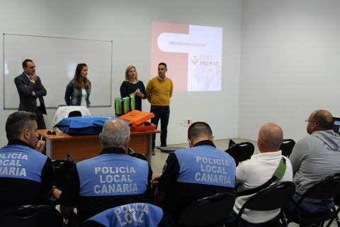 Curso de formación de la Policía Local de Granadilla de Abona