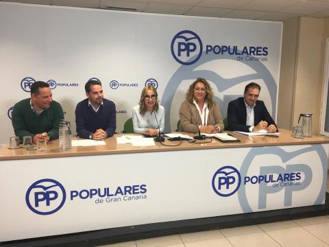 Junta Directiva insular del PP en Gran Canaria