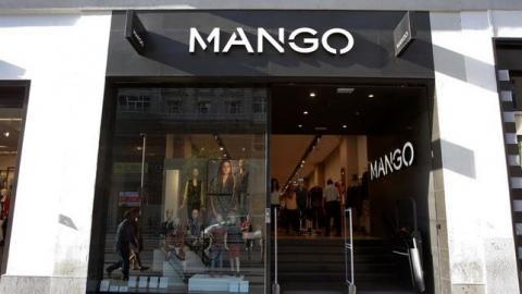 Fachada de la tienda Mango