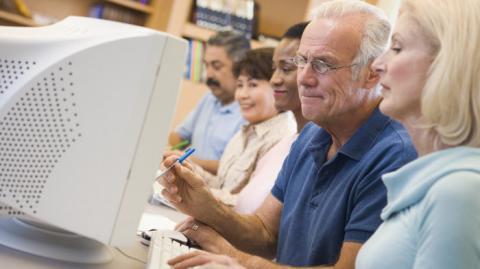 Trabajadores mayores